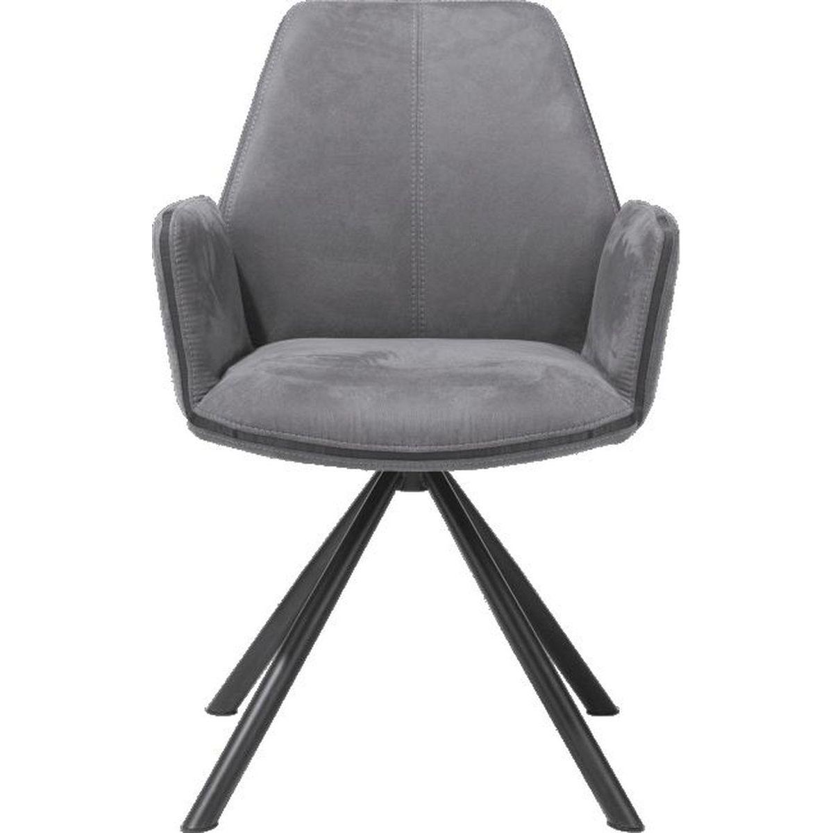 Fauteuil KANE Xooon anthracite