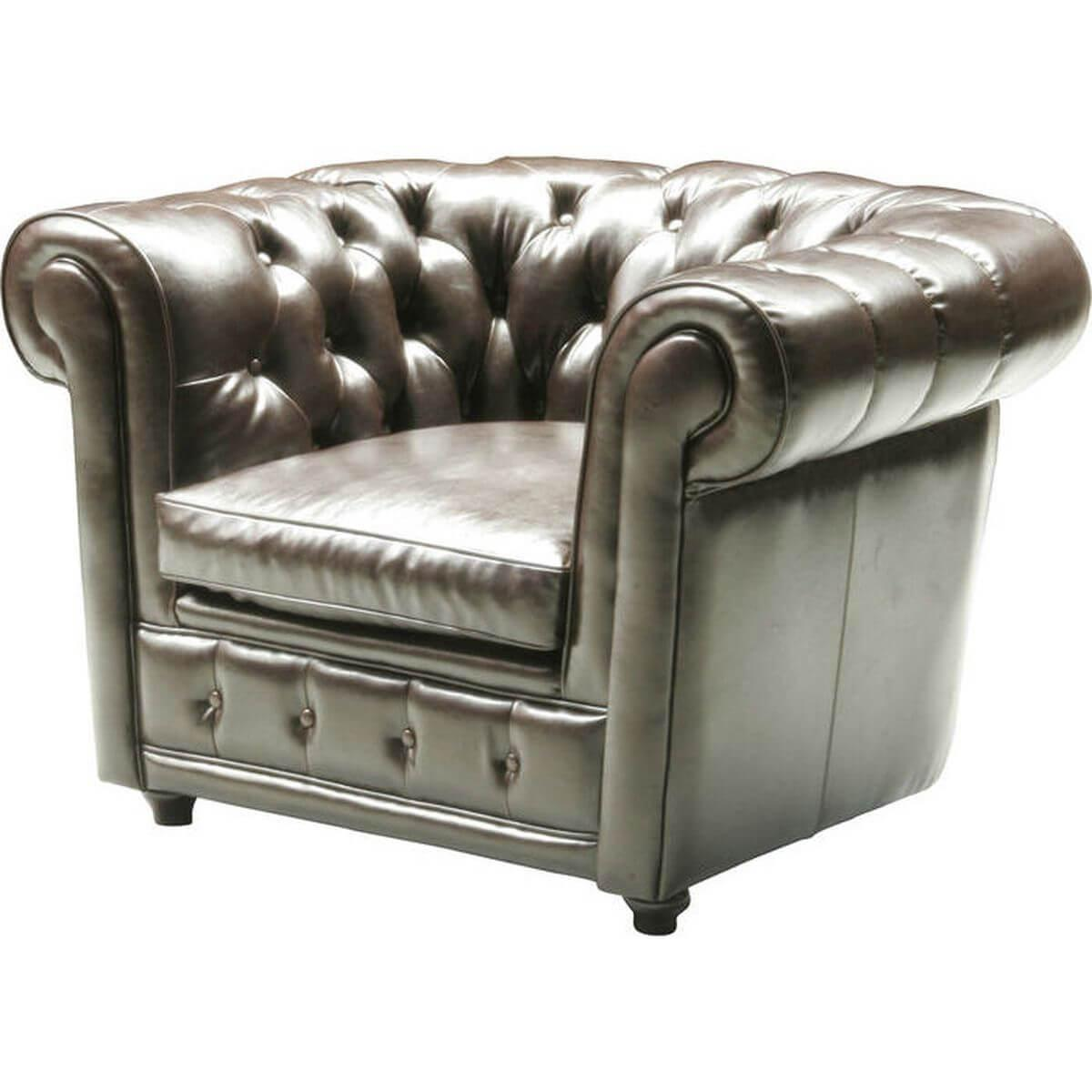 Fauteuil OXFORD Kare Design cuir