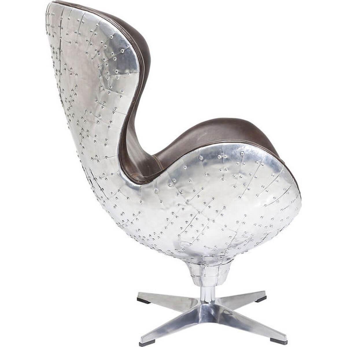 Fauteuil pivotant SOHO BIG BOSS Kare Design