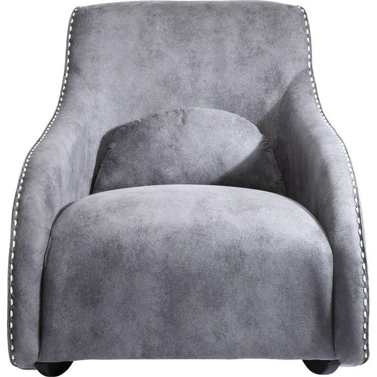 RITMO VINTAGE by Kare Fauteuil gris
