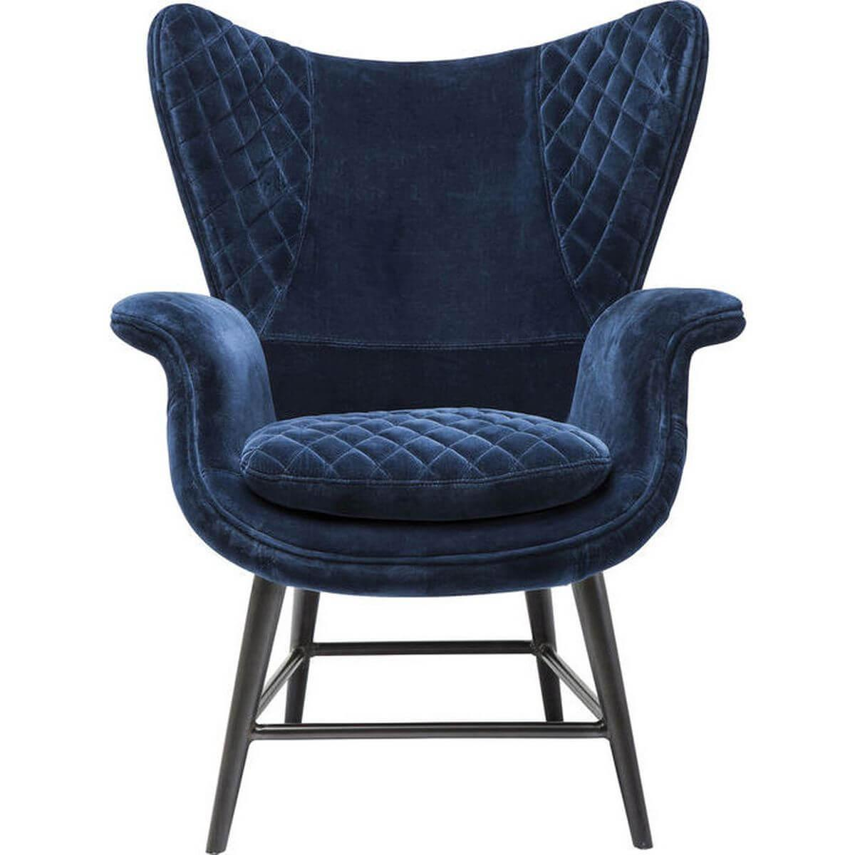 TUDOR by Kare Fauteuil velours