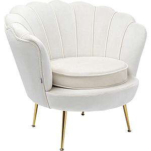 Fauteuil WATER LILY Kare Design beige