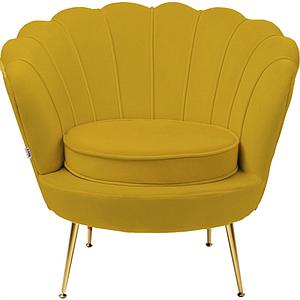 Fauteuil WATER LILY Kare Design jaune