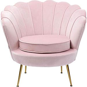 Fauteuil WATER LILY Kare Design rosé