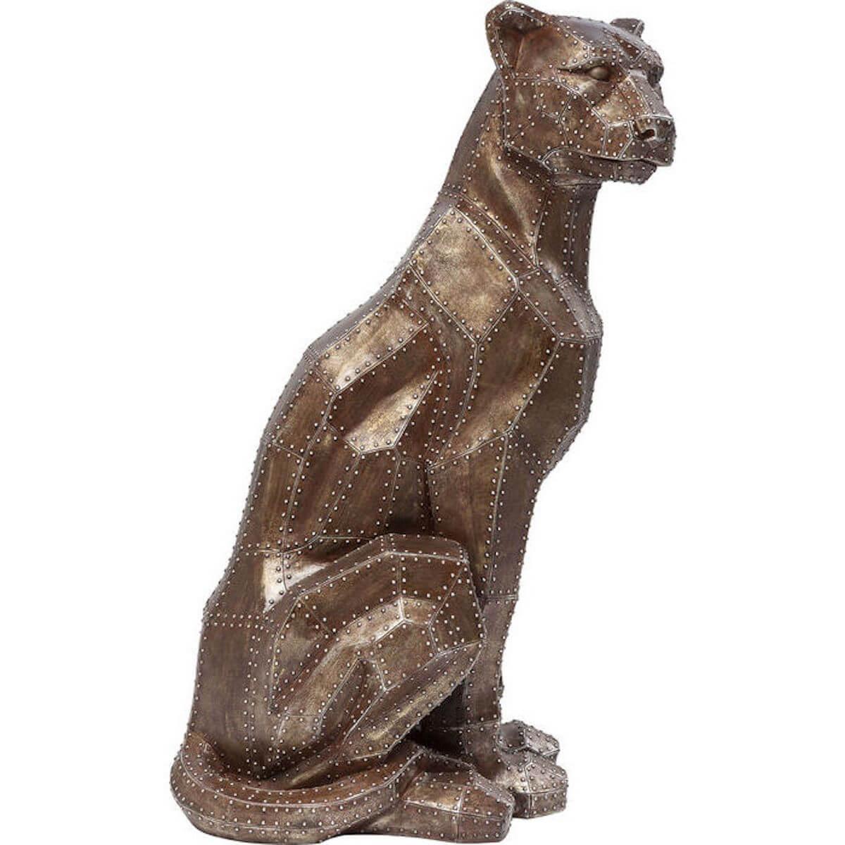 Figurine décorative SITTING CAT Kare Design cuivré