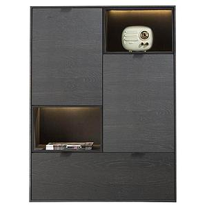 Highboard 90cm ELEMENTS Xooon ONYX