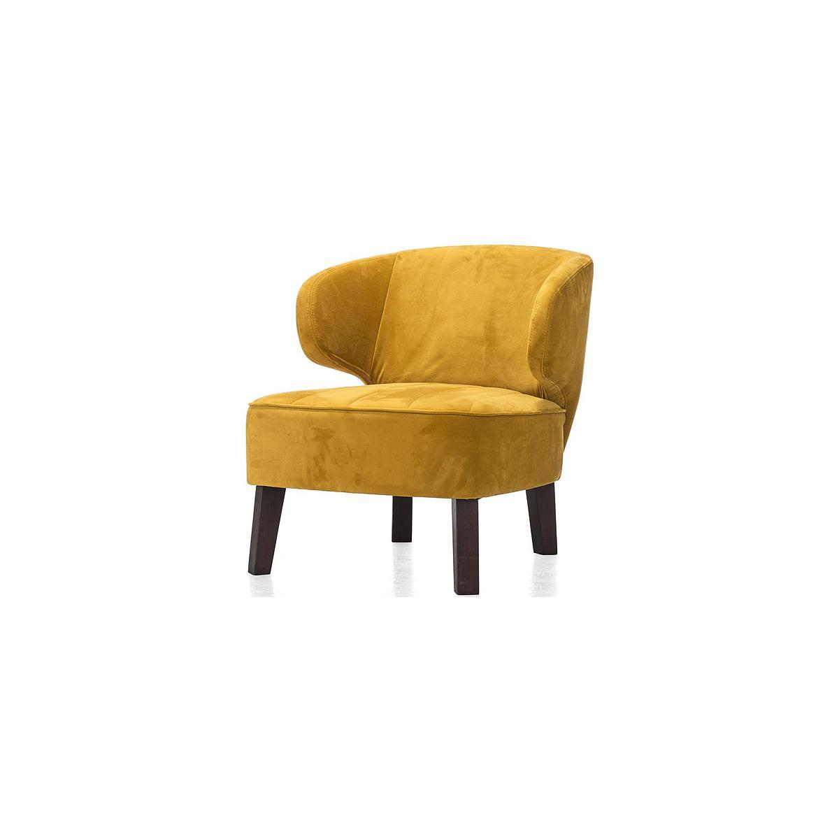 JARNAC by Henders & Hazel Fauteuil  Touch jaune