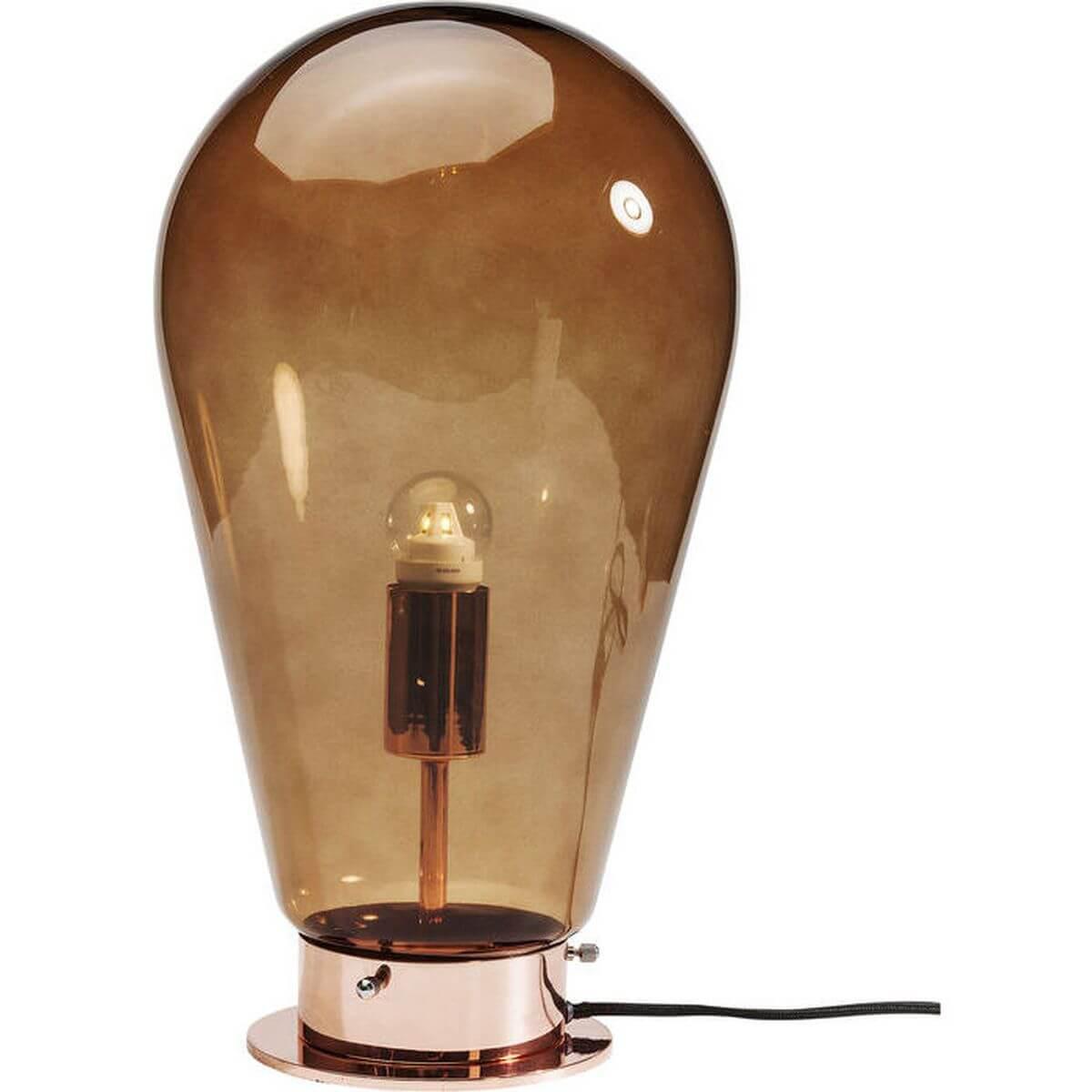 Lampe à poser BULB Kare Design cuivre