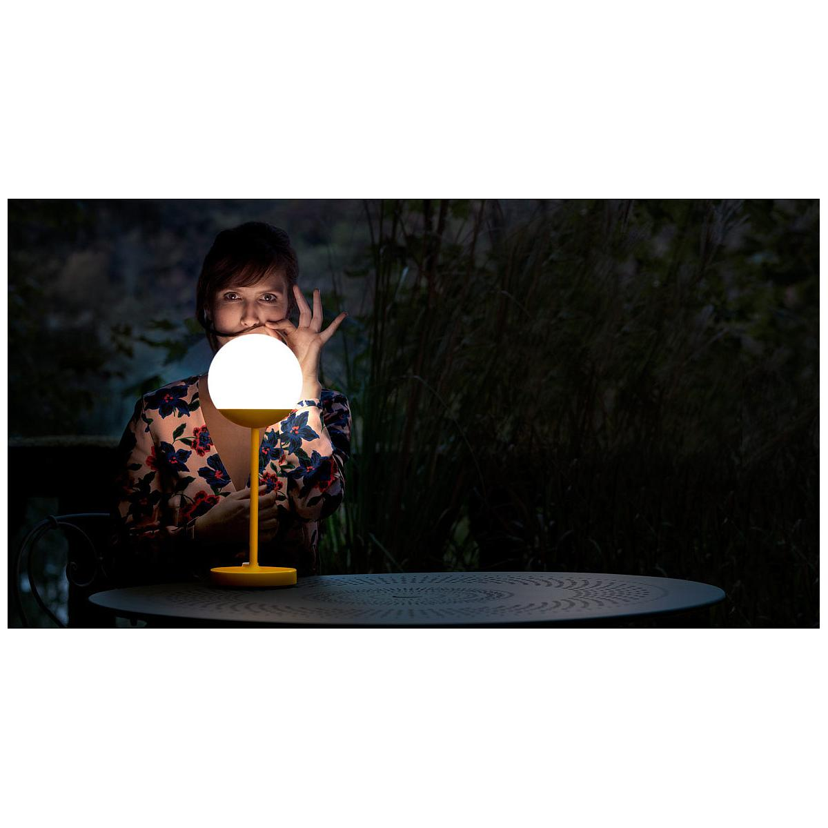 Poser Aubergine Fermob Lampe Moon À Violet y0OvNwm8n