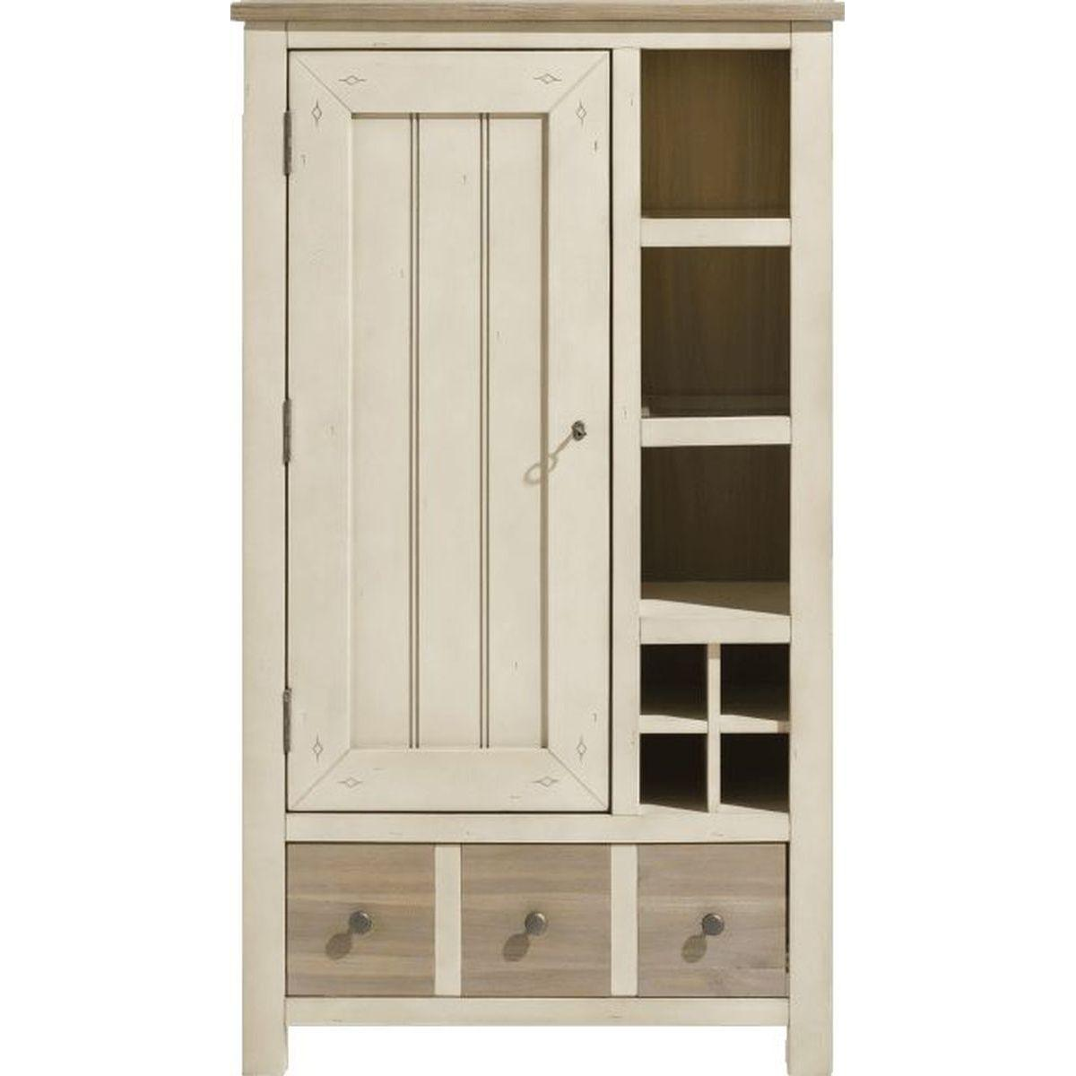 LE PORT by Henders & Hazel Armoire french white