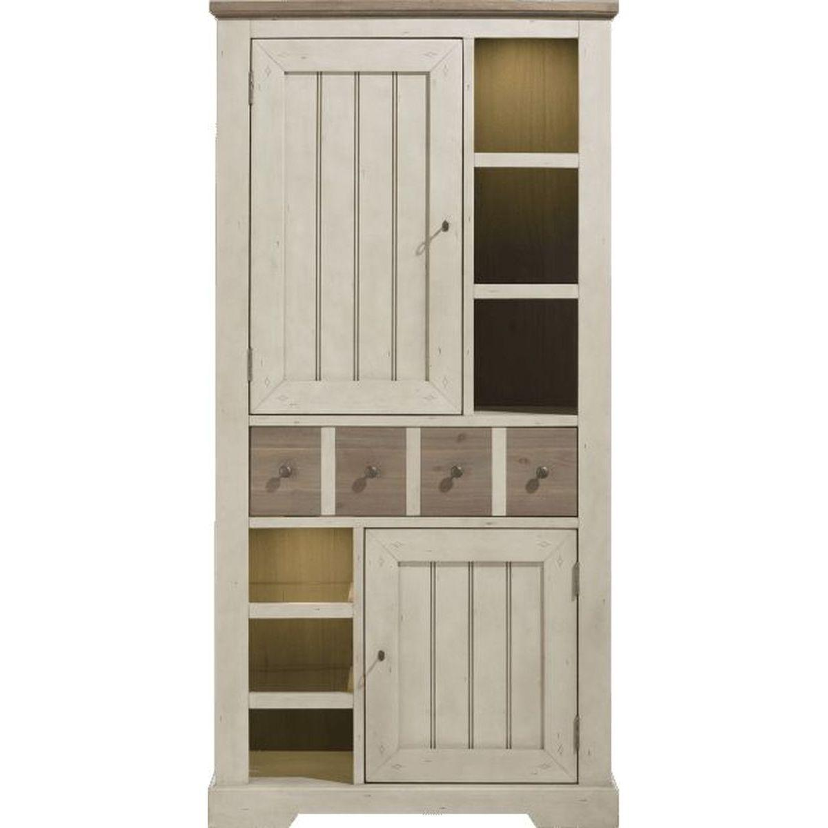 LE PORT by H&H Armoire 200cm White