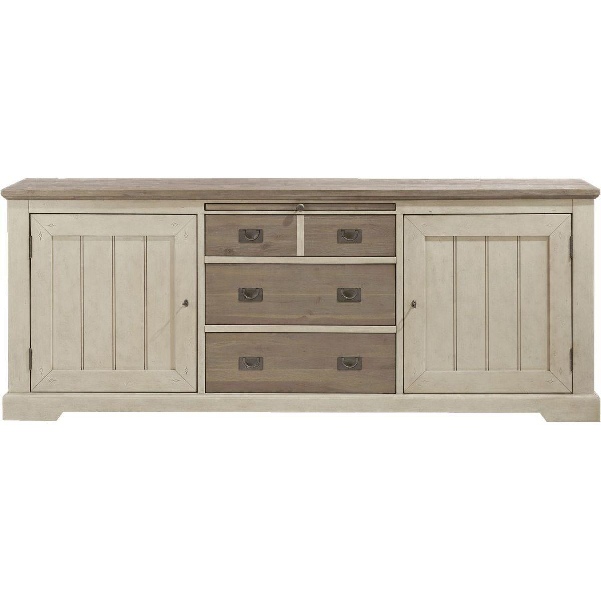 LE PORT by H&H Dressoir 220cm French White