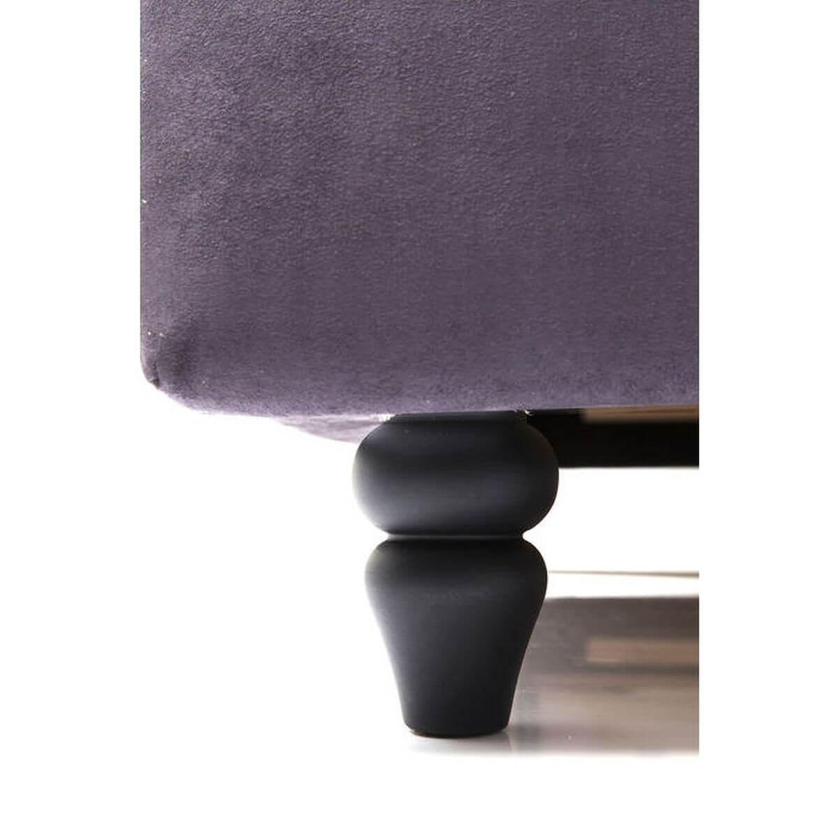 Lit 160x200cm CITY SPIRIT Kare Design gris foncé