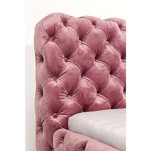 Lit 160x200cm DESIRE Kare Design velvet rose
