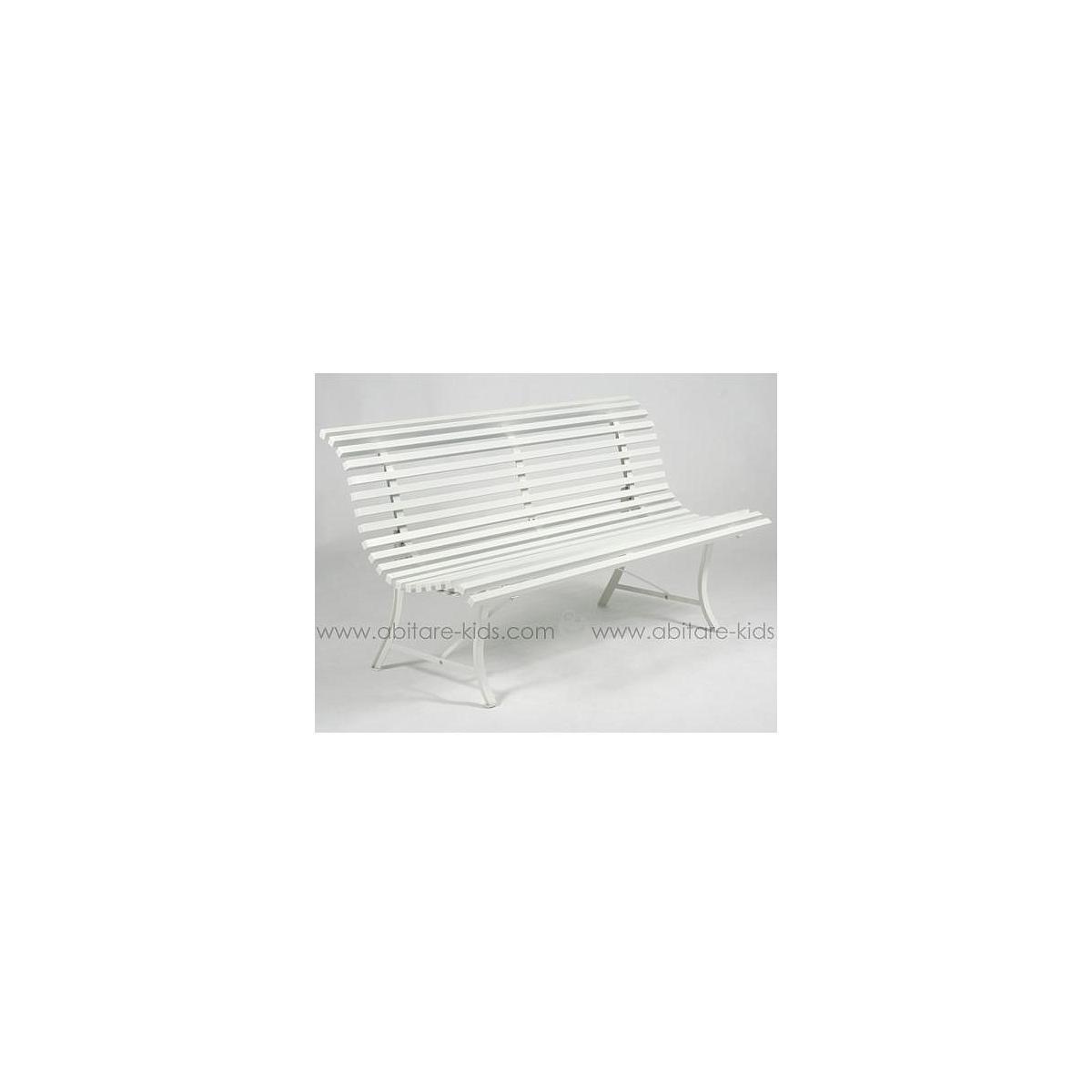 LOUISIANE by Fermob Banc blanc coton 150 cm