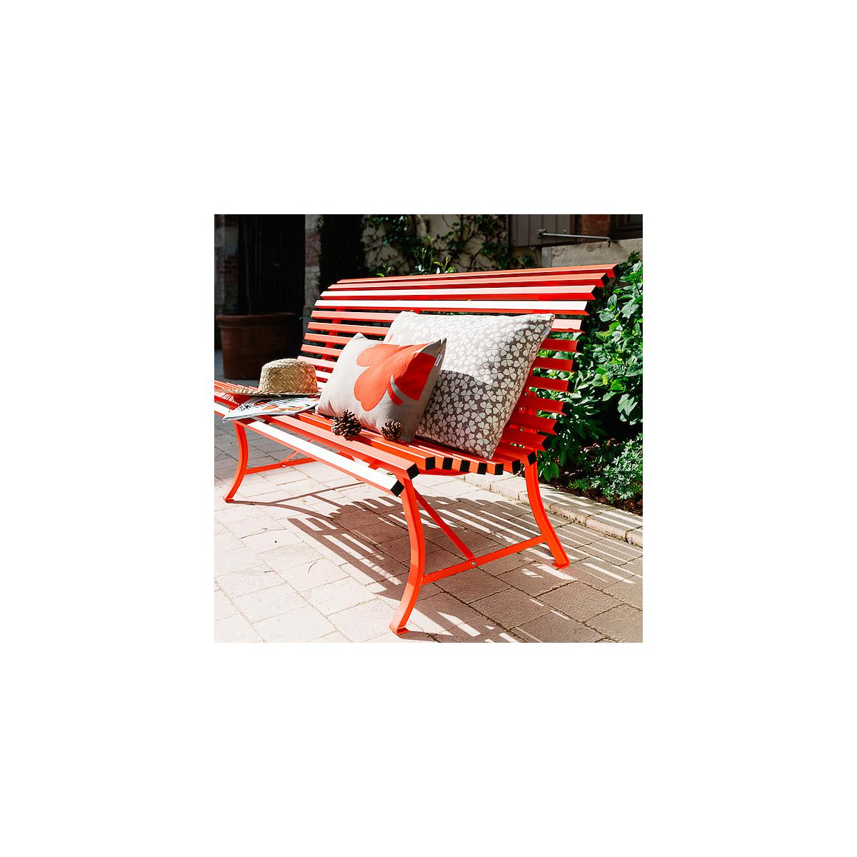 LOUISIANE by Fermob Banc coquelicot 150 cm