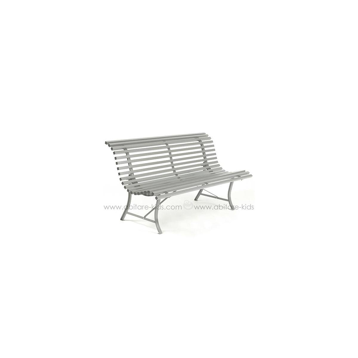 LOUISIANE by Fermob Banc gris métal 150 cm
