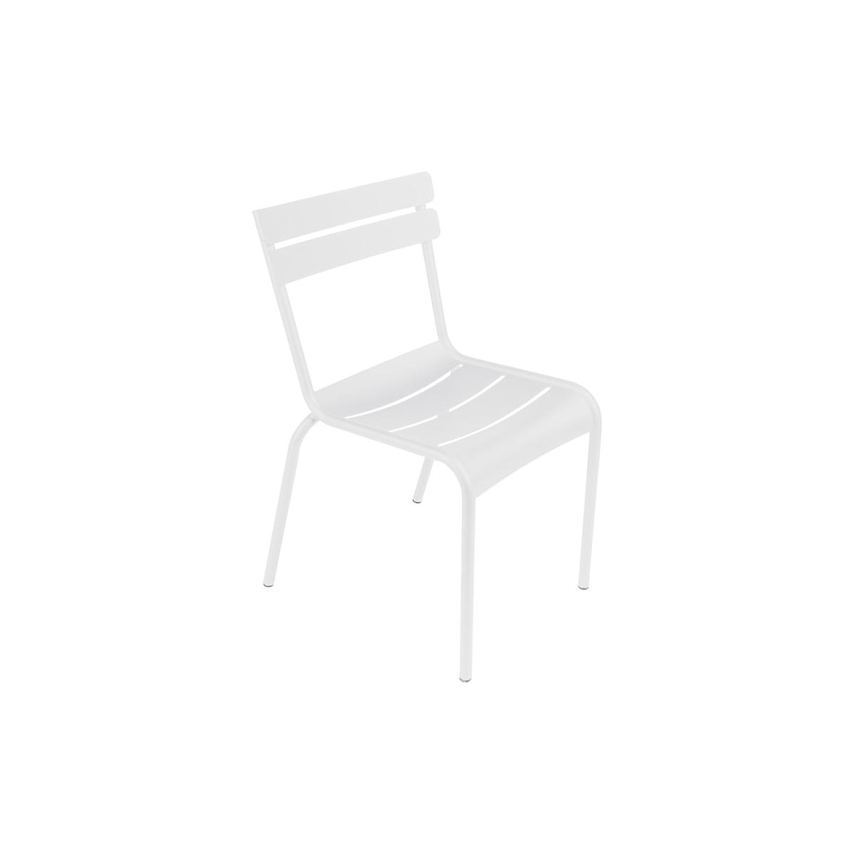 LUXEMBOURG by Fermob Chaise Blanc coton
