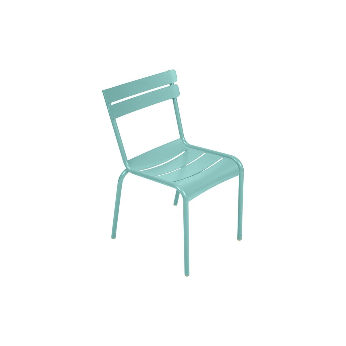 LUXEMBOURG  by Fermob Chaise Bleu lagune