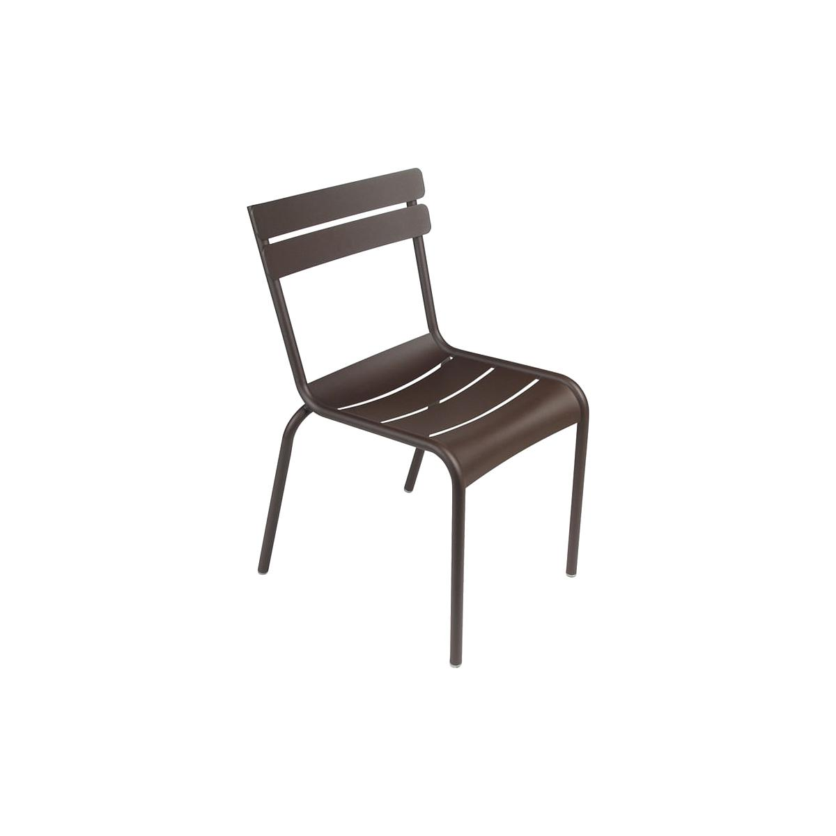LUXEMBOURG  by Fermob Chaise Brun Rouille