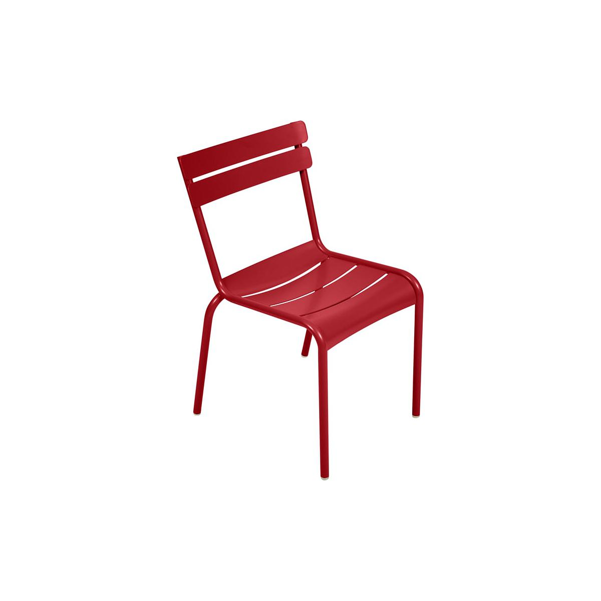 LUXEMBOURG  by Fermob Chaise Coquelicot