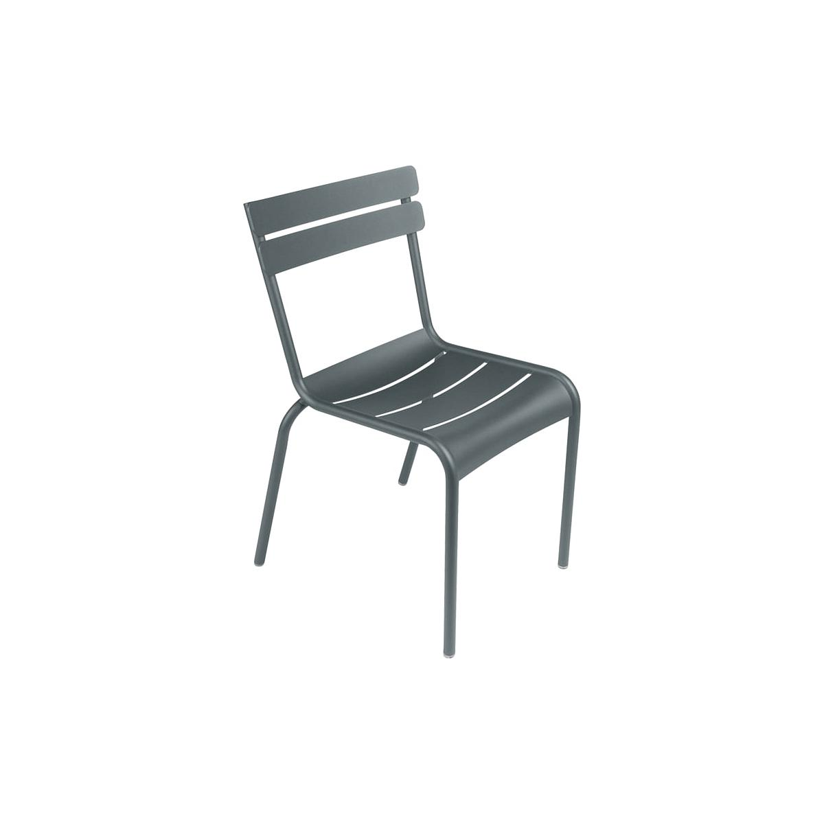 LUXEMBOURG  by Fermob Chaise Gris Orage