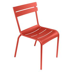 LUXEMBOURG  by Fermob Chaise Orange Capucine