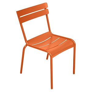 LUXEMBOURG  by Fermob Chaise Orange Carotte