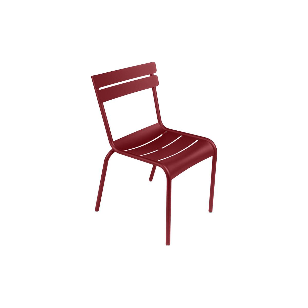 LUXEMBOURG by Fermob Chaise Rouge Piment