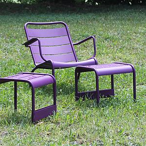 LUXEMBOURG  by Fermob Fauteuil bas Carotte