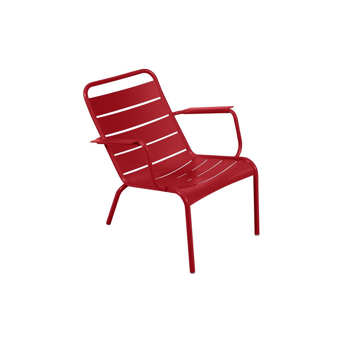 LUXEMBOURG  by Fermob Fauteuil bas Coquelicot
