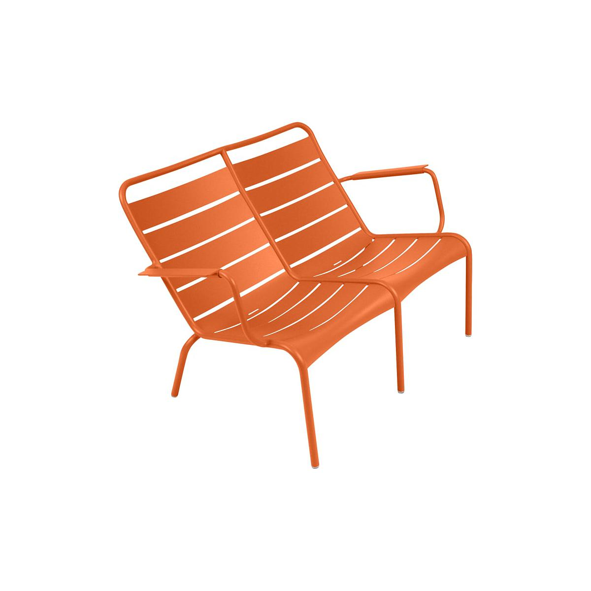 LUXEMBOURG  by Fermob Fauteuil bas duo Carotte
