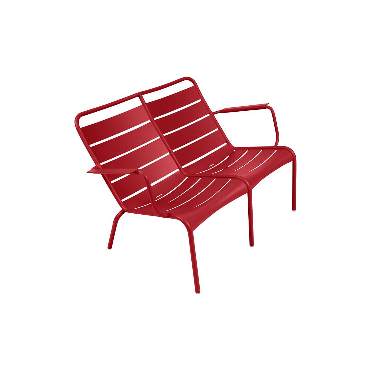 LUXEMBOURG by Fermob Fauteuil bas duo Piment