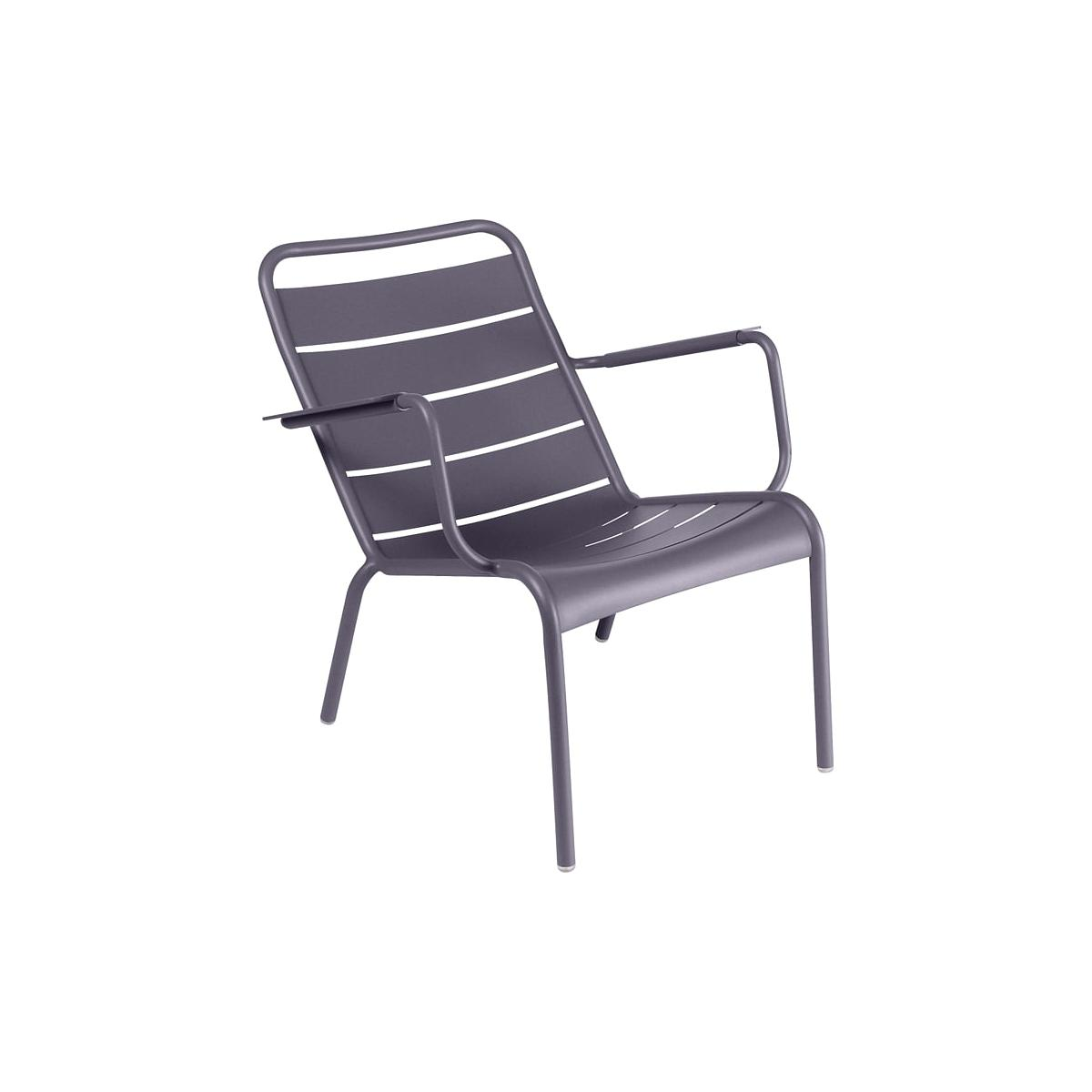 LUXEMBOURG by Fermob Fauteuil bas Prune