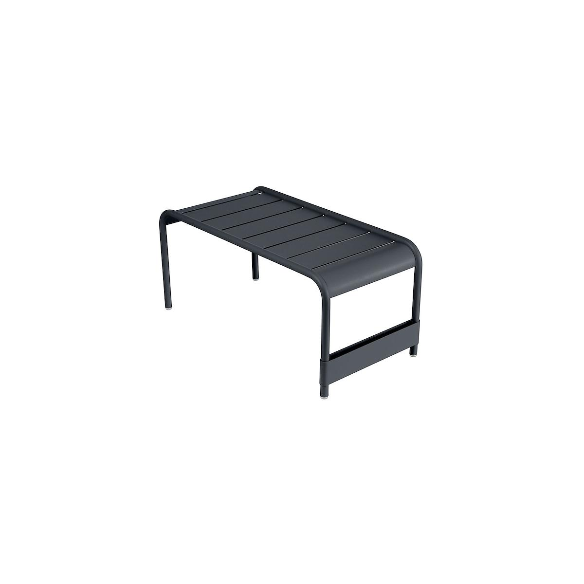 LUXEMBOURG by Fermob Grande table basse carbone