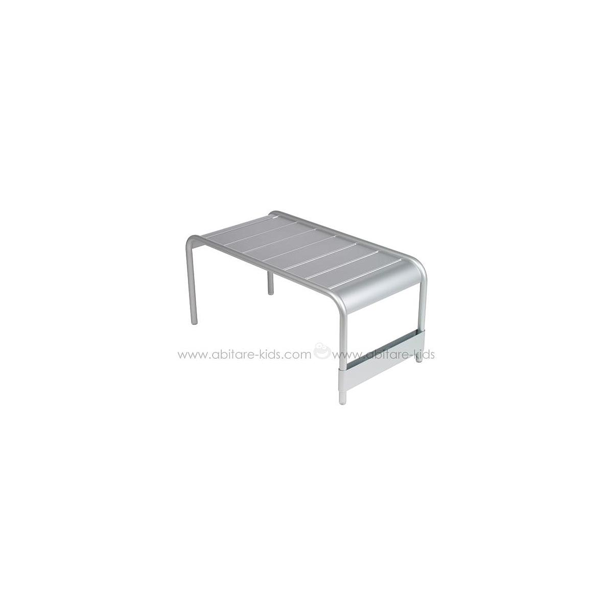 LUXEMBOURG by Fermob Grande table basse gris métal