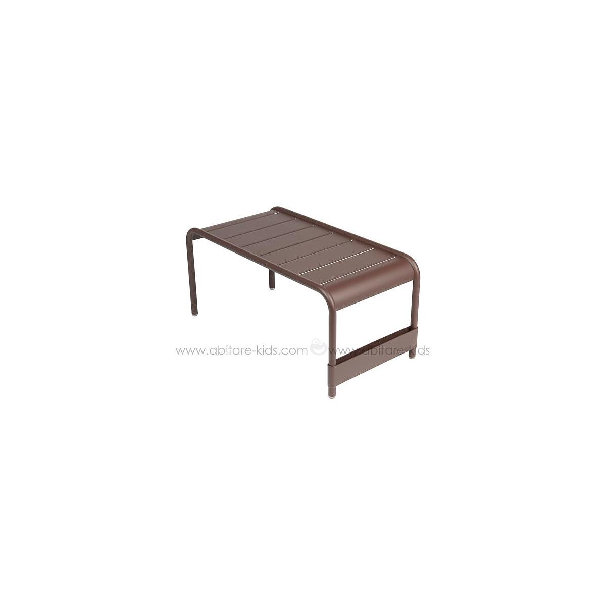 LUXEMBOURG by Fermob Grande table basse rouille