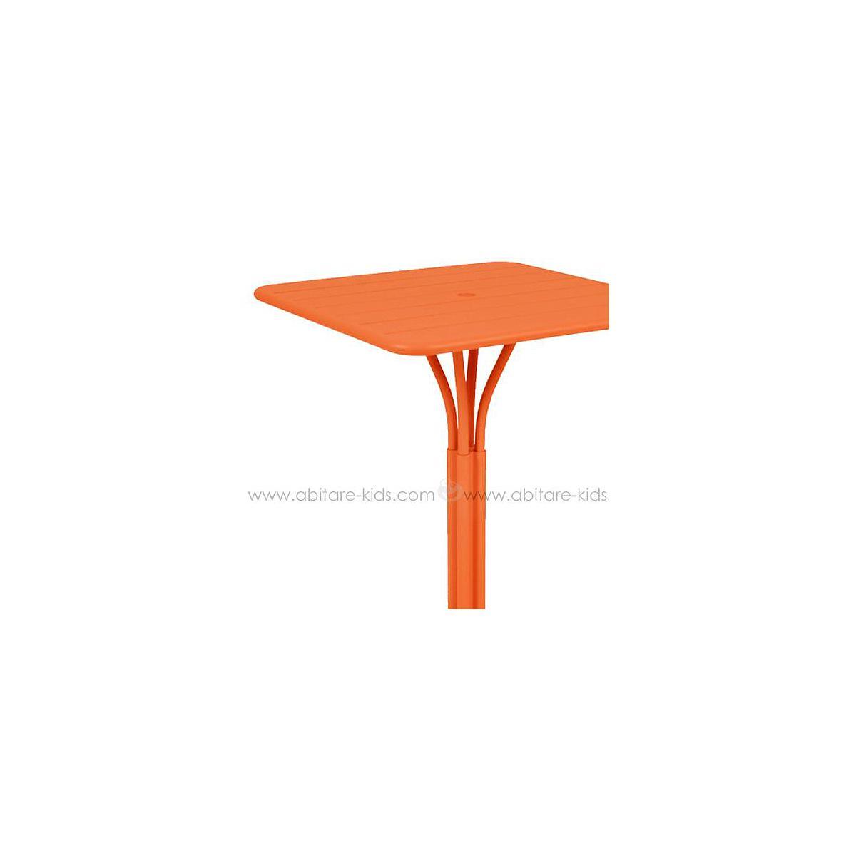 LUXEMBOURG by Fermob guéridon haut 80x80 cm carotte