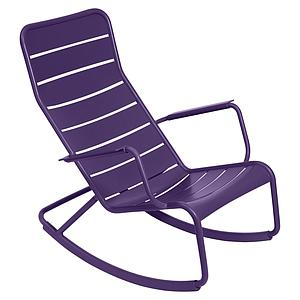 LUXEMBOURG by Fermob Rocking chair Aubergine