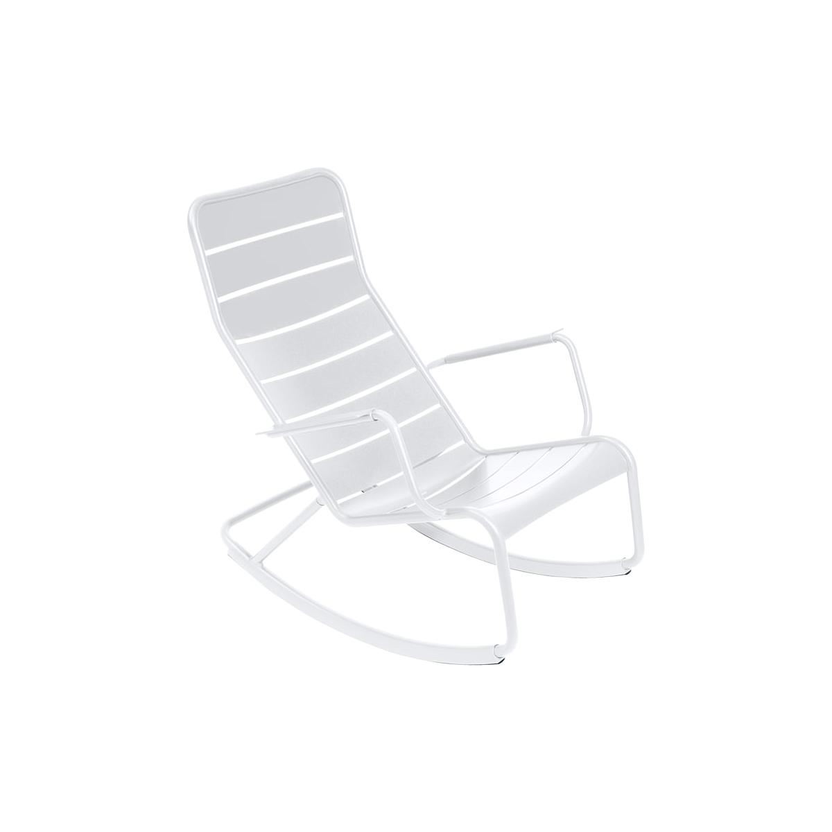 LUXEMBOURG by Fermob Rocking chair Blanc coton