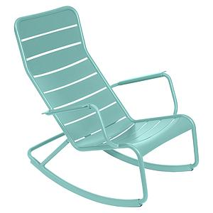 LUXEMBOURG by Fermob Rocking chair Bleu Lagune