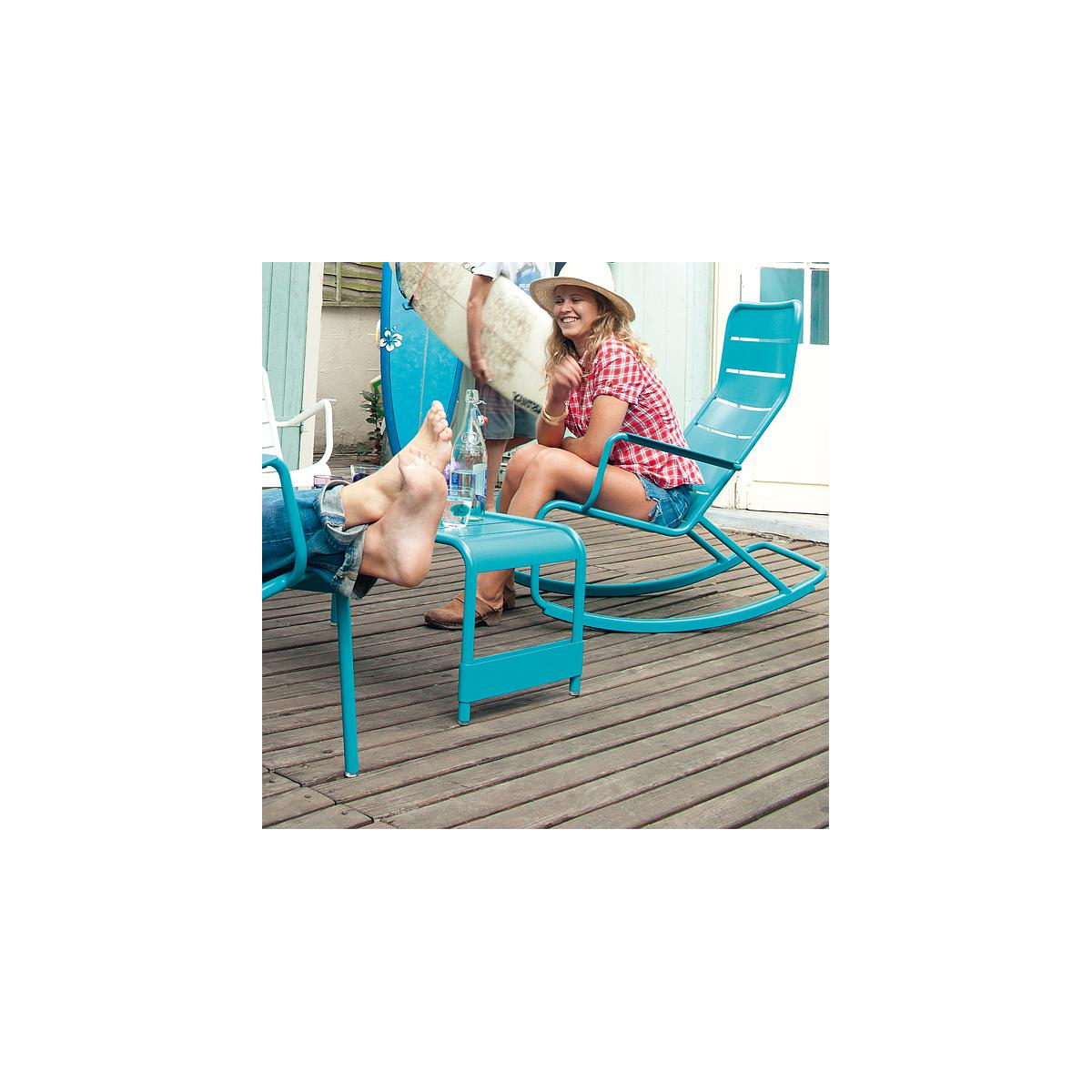 LUXEMBOURG by Fermob Rocking chair Brun rouille
