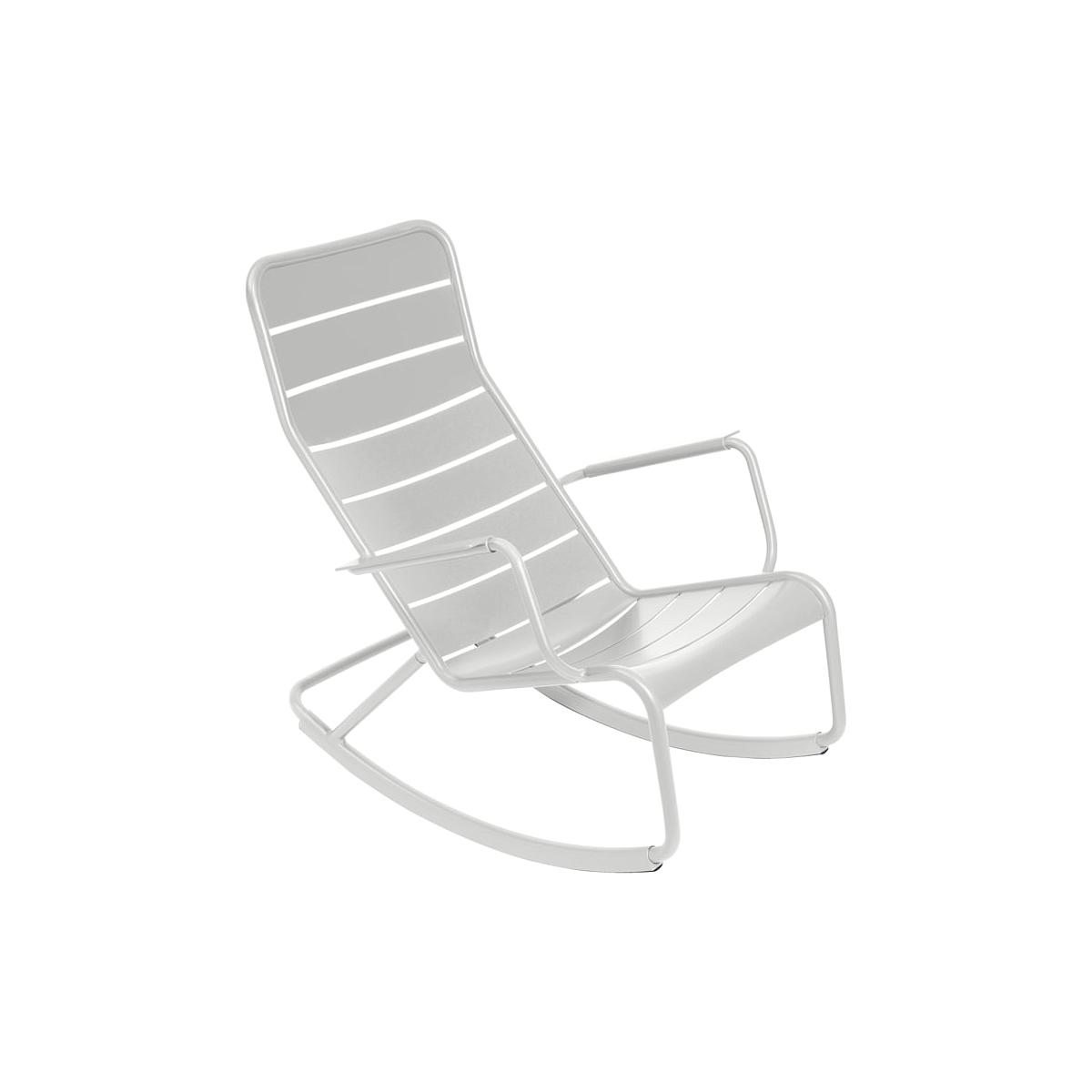 LUXEMBOURG by Fermob Rocking chair Gris métal