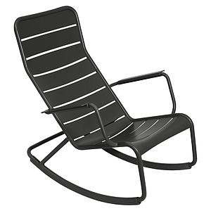 LUXEMBOURG by Fermob Rocking chair Noir réglisse