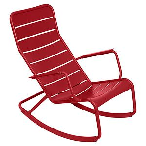 LUXEMBOURG by Fermob Rocking chair Rouge coquelicot