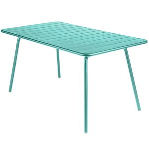 LUXEMBOURG by Fermob Table 143x80 cm Bleu Lagune