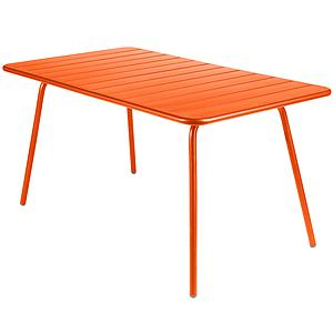 LUXEMBOURG by Fermob Table 143x80 cm carotte