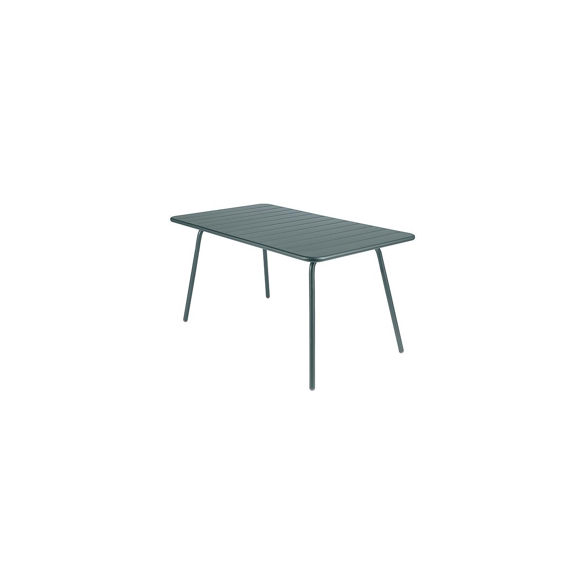 LUXEMBOURG by Fermob Table 143x80 cm gris orage