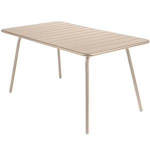 LUXEMBOURG by Fermob Table 143x80 cm muscade