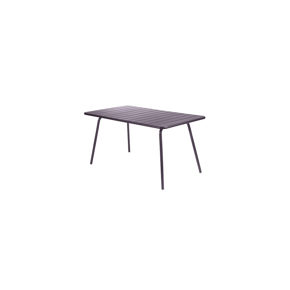 LUXEMBOURG by Fermob Table 143x80 cm prune